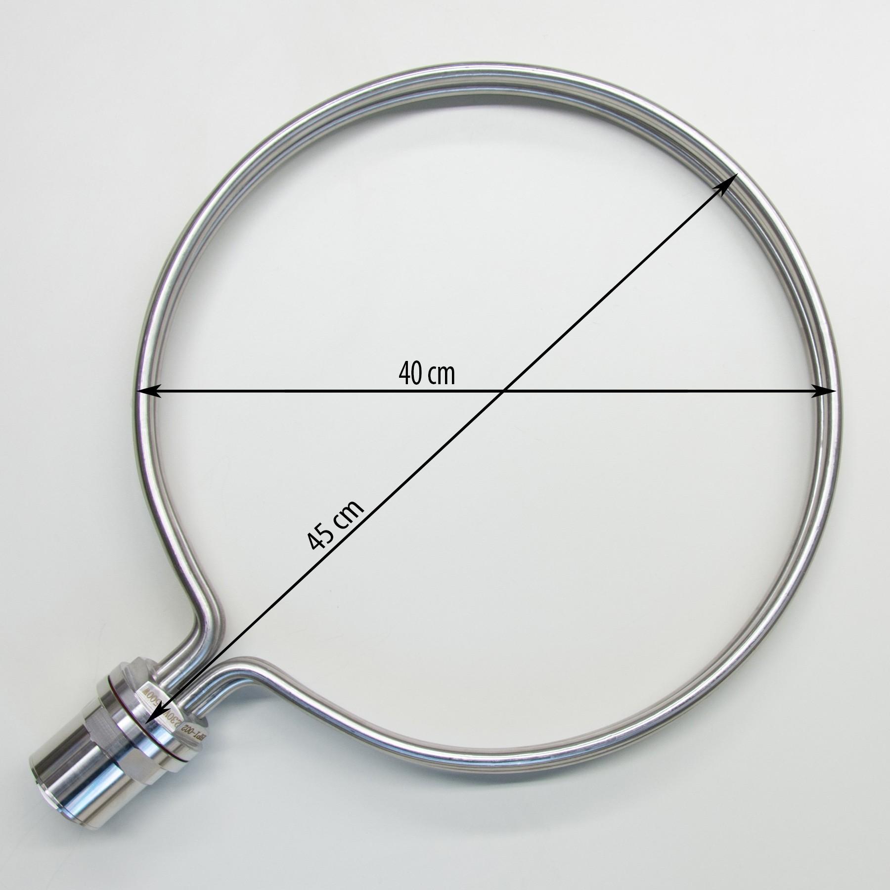 Round Heating Element For Brewing 40cm Diameter 8500w
