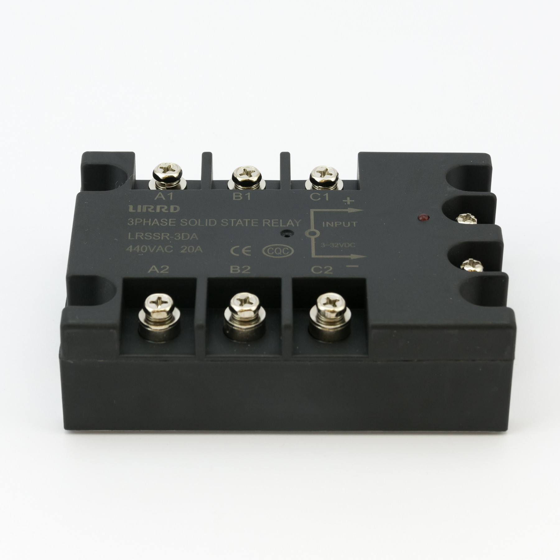 3 Phase Solid State Relay Ssr 20a