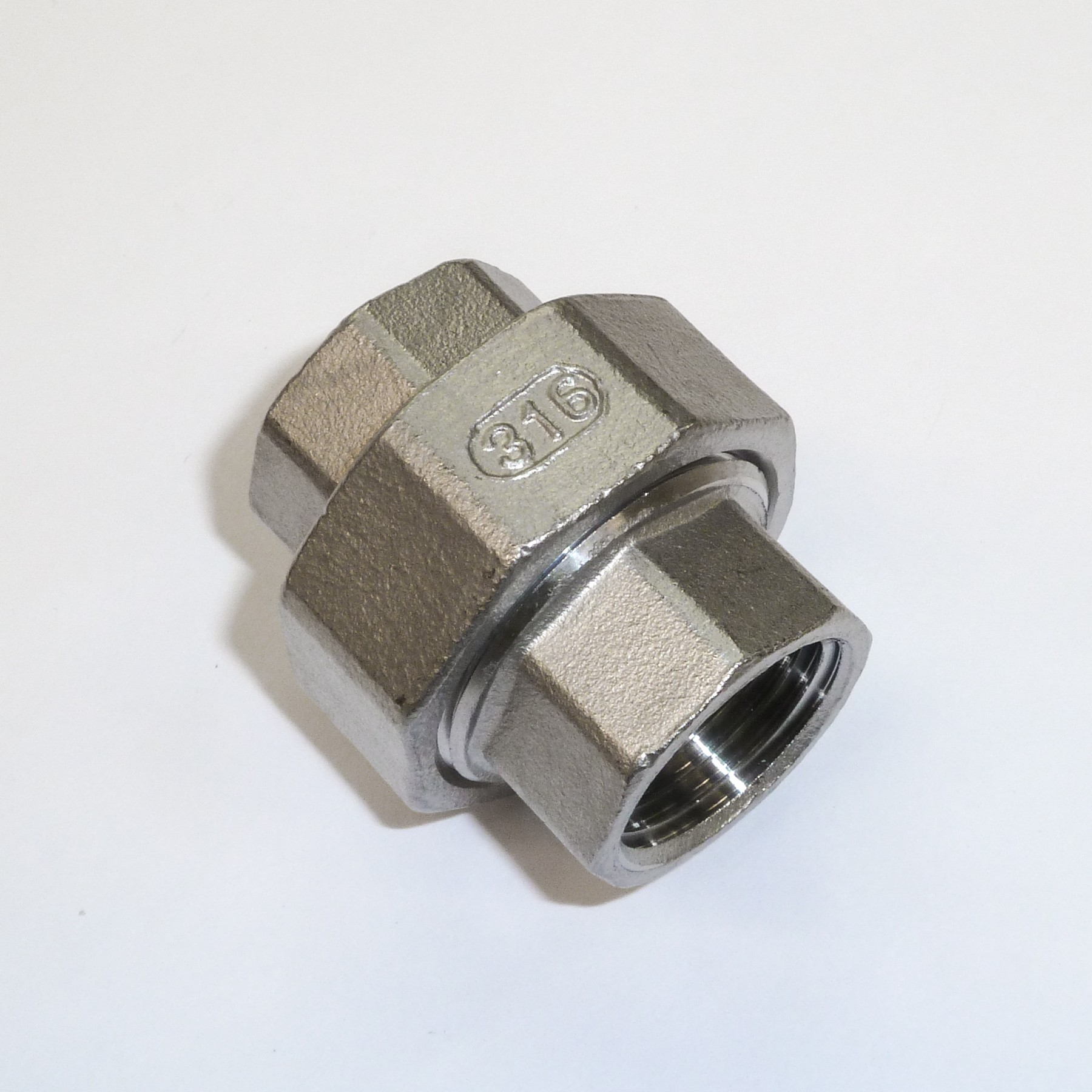 "1/2"" BSP 3-piece Coupler"