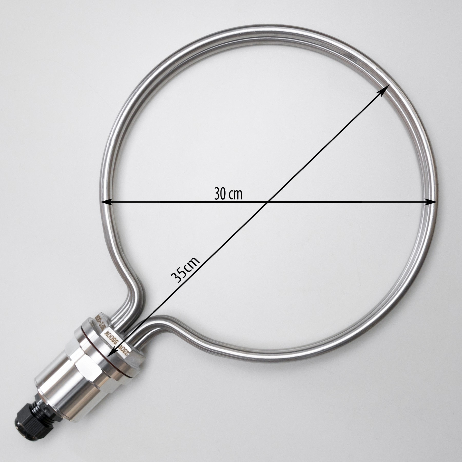 Round Heating Element for brewing, 30cm diameter, 5500W