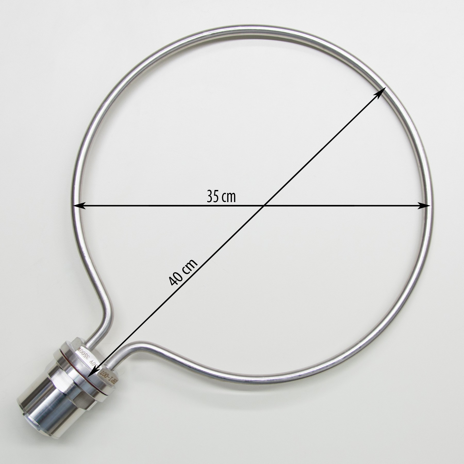 Round Heating Element for brewing, 35cm diameter, 3500W
