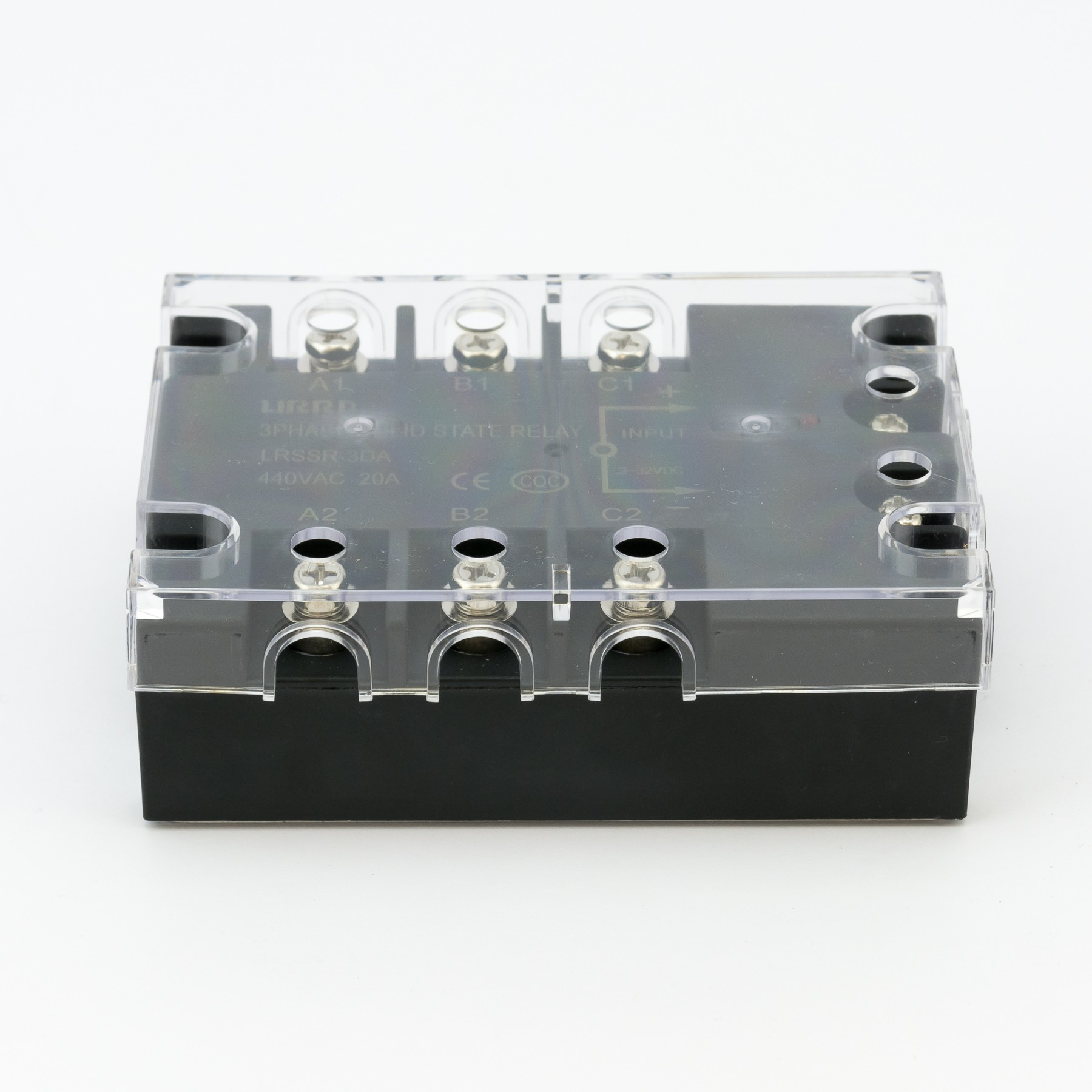3-phase Solid State Relay (SSR), 30A