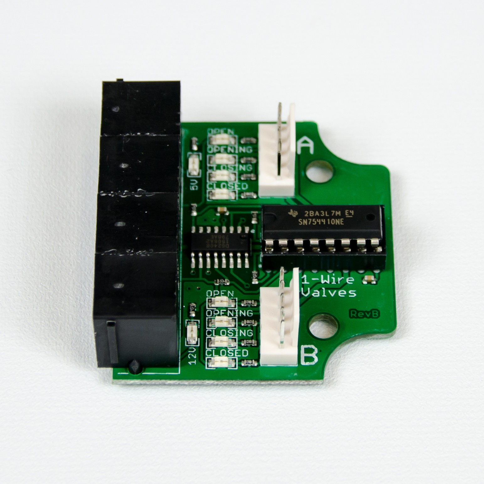 BrewPi Valve Control Expansion Board