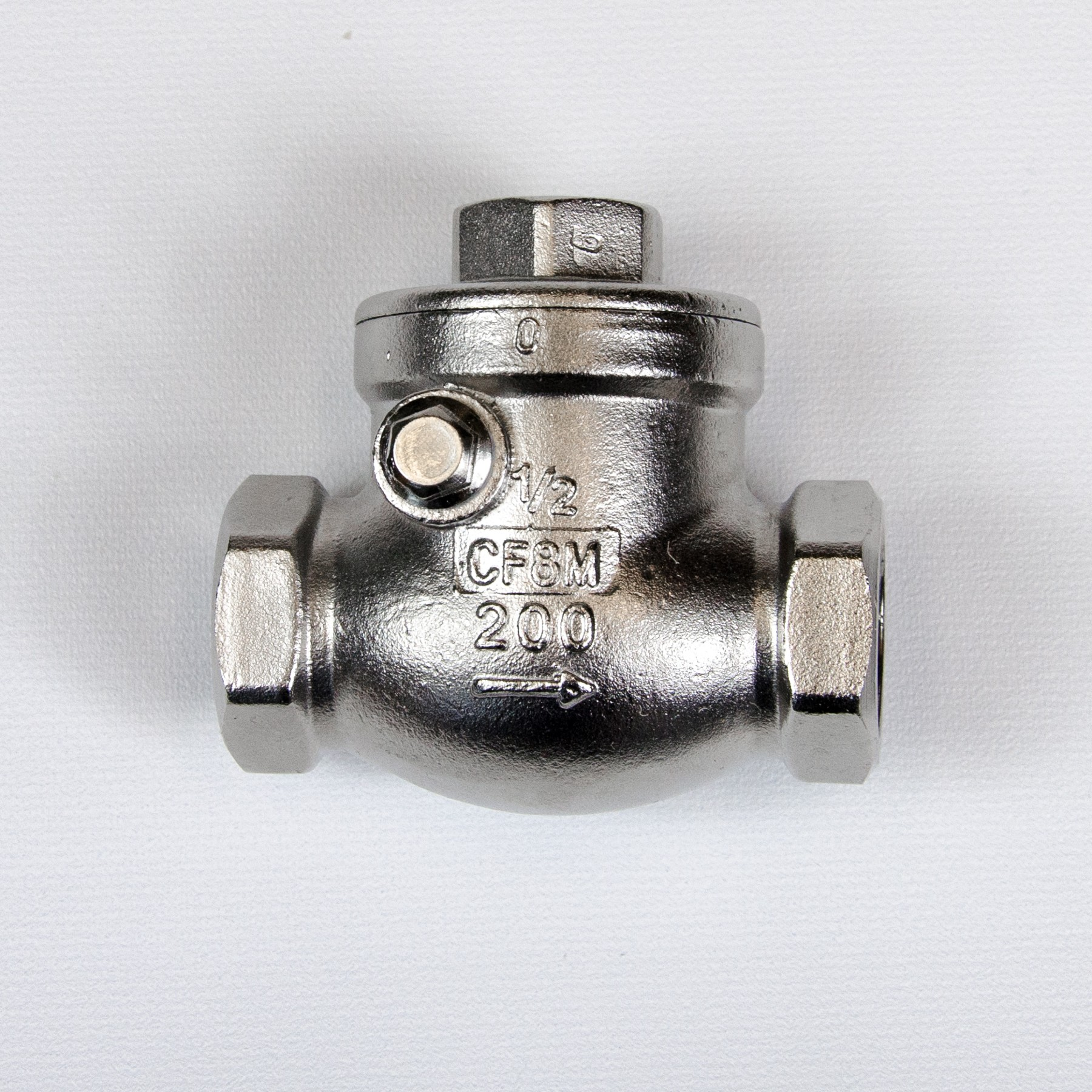 "One Way Valve (Swing Check Valve) 1/2"" BSP"
