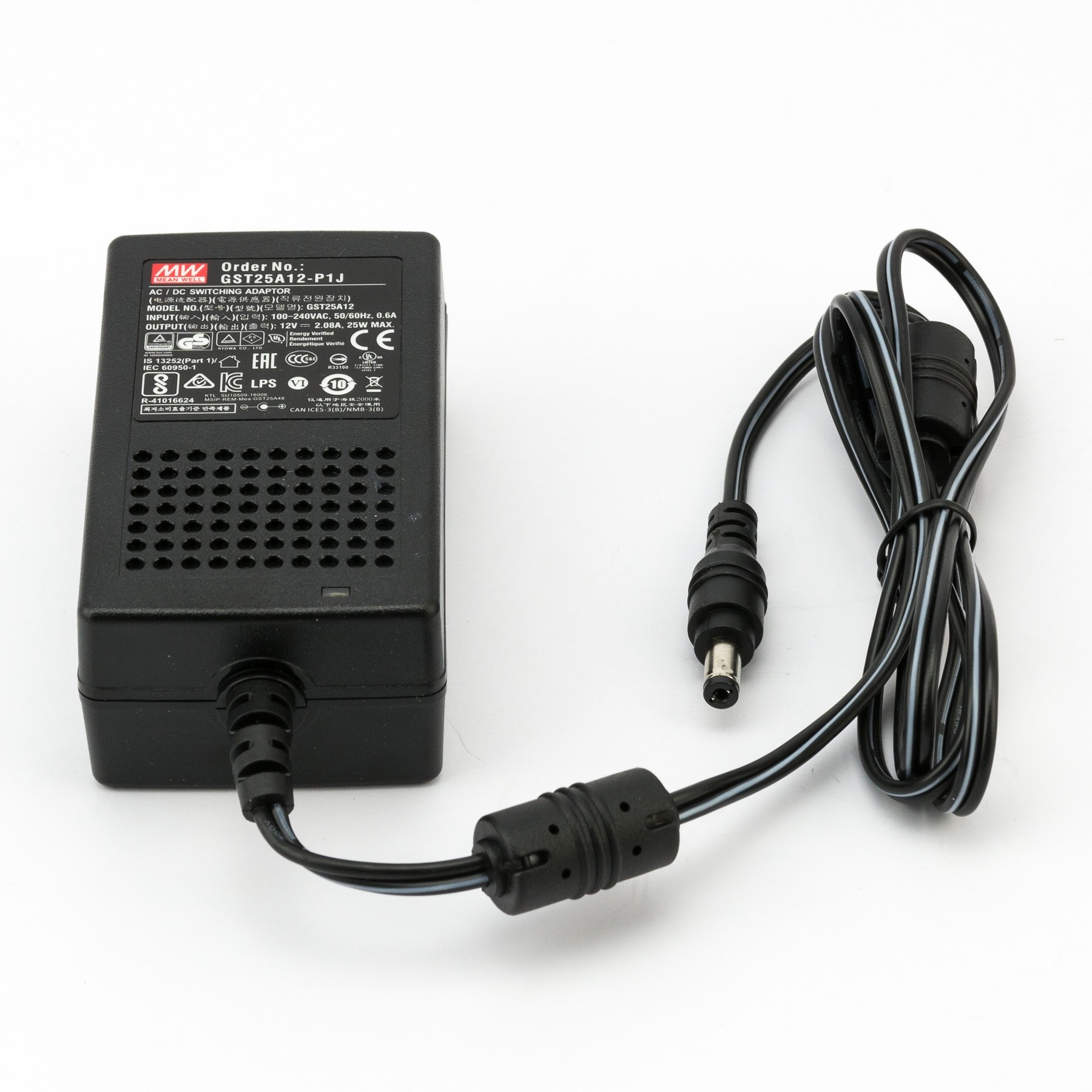 Power Supply 12V - 2.08A (GST25A12-P1J)