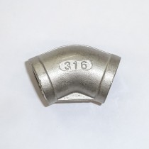 "1/2"" BSP Elbow (female - female) - 45 degrees"