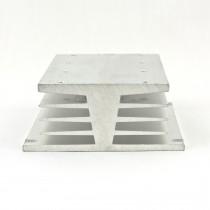 Low profile 3-phase SSR heat sink