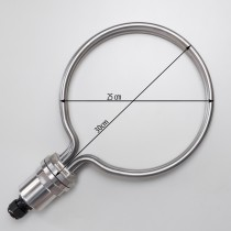 Round Heating Element for brewing, 25cm diameter, 5500W