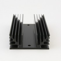 Low profile 3-phase SSR heat sink