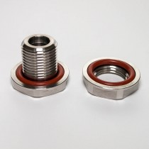 "Weldless bulkhead fitting kit (1/2"" NPT)"