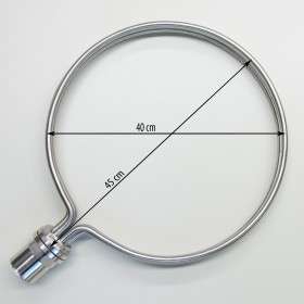 Round Heating Element for brewing, 40cm diameter, 8500W