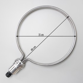 Round Heating Element for brewing, 35cm diameter, 5500W
