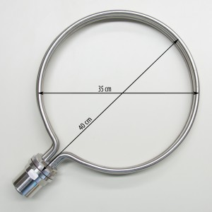 Round Heating Element for brewing, 35cm diameter, 8500W
