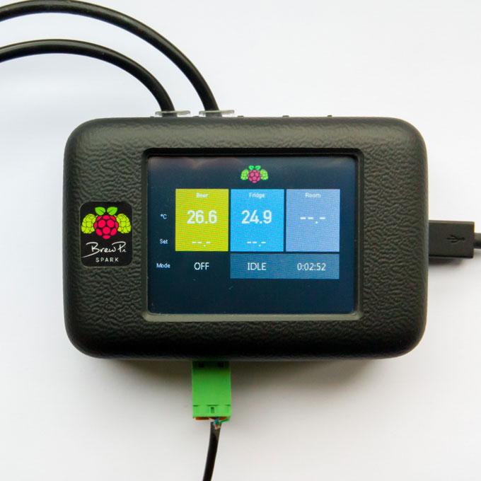 BrewPi Spark v2 with screen ON
